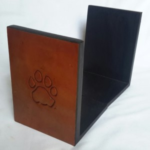 Book Ends Leather