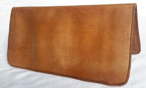 Cheque Book Leather Cover
