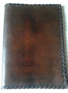 Diary Cover Leather