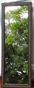 Mirror Leather Beaded