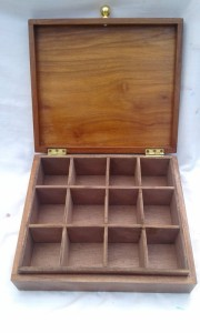 Spice or Tea Wooden Box (1)